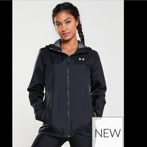 Women's Under Armour Hooded Rain Jacket M